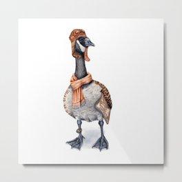 Aviator Canada Goose Metal Print