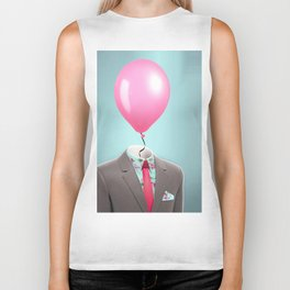 Balloon Head Biker Tank