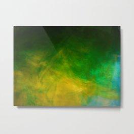 """""""Making Green"""" Metal Print"""