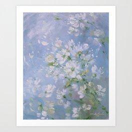 Sweet Wild Roses Art Print
