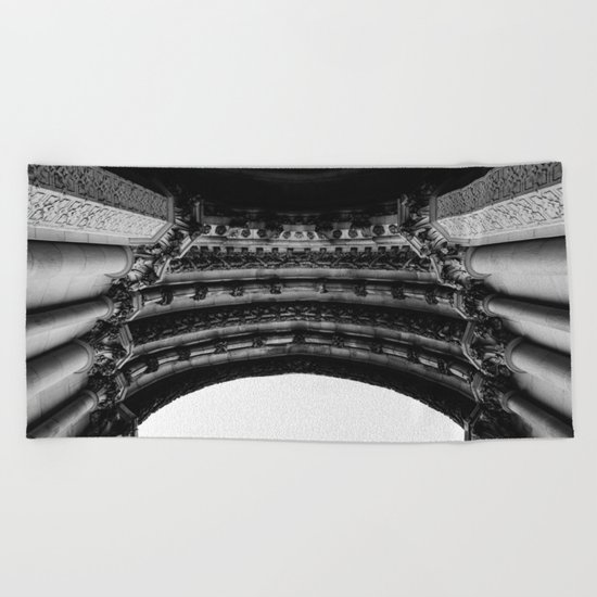 Cathedral Church of St. John the Divine V Beach Towel