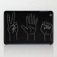 politics iPad Cases featuring Politics by Emma Winton