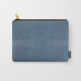 WASHED BLUE DENIM . SOLID Carry-All Pouch