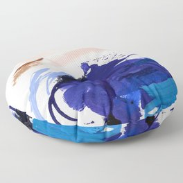 The Universe Is Shaped Exactly Like The Earth Floor Pillow