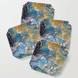 Mineralogy - Abstract Flow Acrylic Coaster