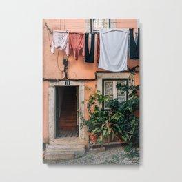 Out to Dry, Lisbon 02 Metal Print