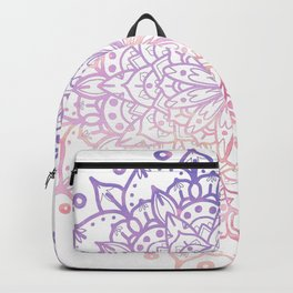 SOFT SUNSET MANDALA Backpack