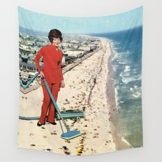 Dry Cleaning Wall Tapestry