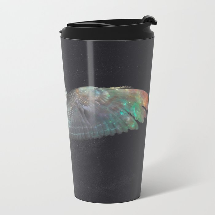 Ugla (Owl) Metal Travel Mug