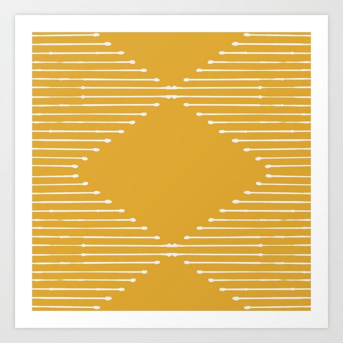 Geo (Yellow) Kunstdrucke