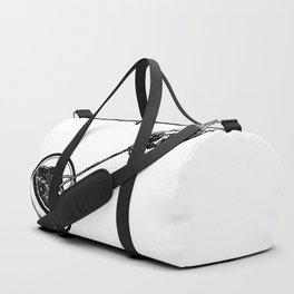 Making Toast by Fire Duffle Bag