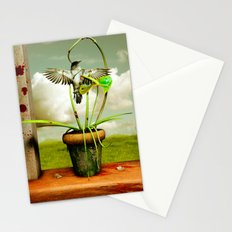 The Vampire Flower Stationery Cards