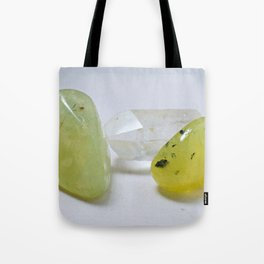 Prehnite & Quartz - The Peace Collection Tote Bag