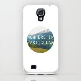 nowhere in particular iPhone Case