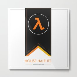 halflife 3 confirmed Metal Print