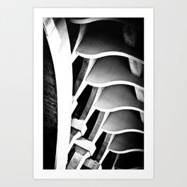 fractal ford Art Print