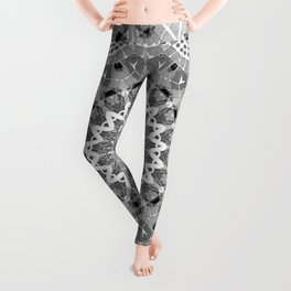 Black and white mandal Leggings