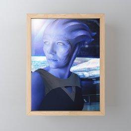 Asari Portrait Framed Mini Art Print