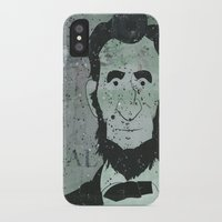 lincoln iPhone & iPod Cases featuring Lincoln by Doren Chapman