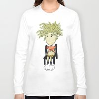 larry Long Sleeve T-shirts featuring Larry by UberMondoClash