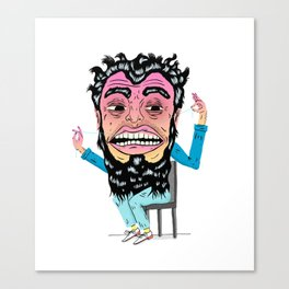 Floss Monster Canvas Print
