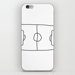 Football in Lines iPhone Skin