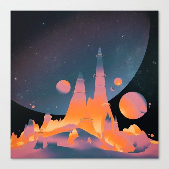 CTOWN (everyday 03.12.16) Canvas Print
