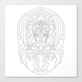 H Space V2 white Canvas Print