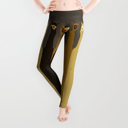Triple LLAMAS ALPACAS CAMELS Leggings