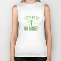 lee pace Biker Tanks featuring Your Pace Or Mine? by AmazingVision