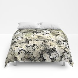 Lacy leaves Comforters