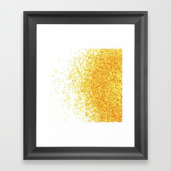 burnt sugar Framed Art Print