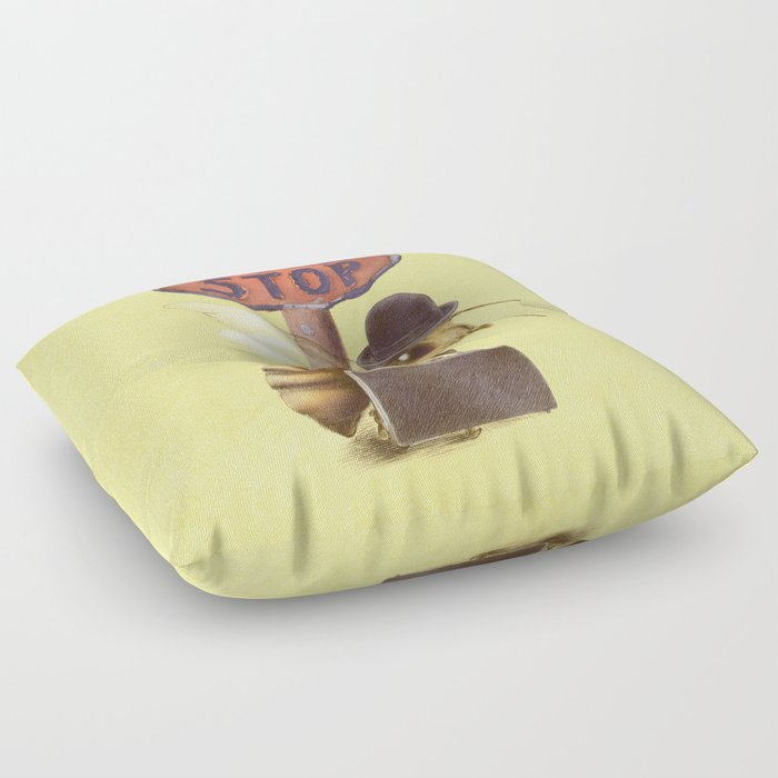 Worker Bee (colour option) Floor Pillow