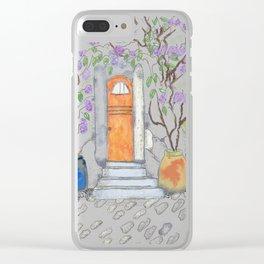 fairy door Clear iPhone Case