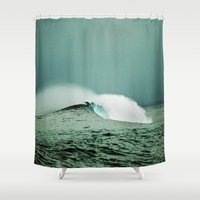 indonesia Shower Curtains featuring Empty, Indonesia by Maggie Marsek Photography