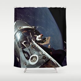 Apollo 9 - Spacewalk Shower Curtain