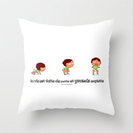 En avant Throw Pillow
