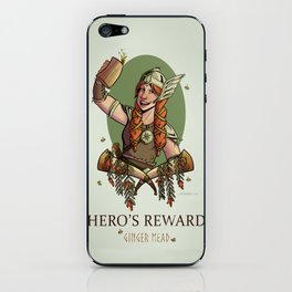 Hero's Reward Ginger Mead iPhone Skin
