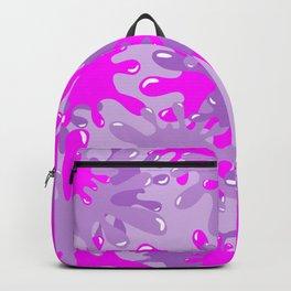Slime in Lavenders & Pink Backpack