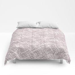 Ink Weaves: Morganite II Comforters