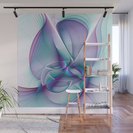 A Colorful Beauty, Abstract Fractal Art Wall Mural