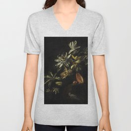 The Three Graces (1862) from Gazette Des Beaux-Arts a French art review Unisex V-Neck