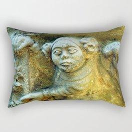 i've got my eye on you Rectangular Pillow