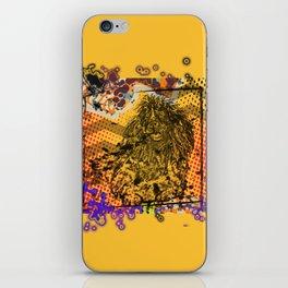 Poodle pop art iPhone Skin