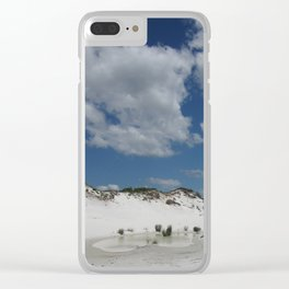 Dune Oasis Clear iPhone Case