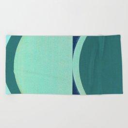 Waning Crescent Beach Towel