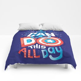 I can do this all day Comforters