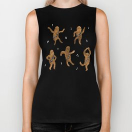 Wookie Dance Party Biker Tank