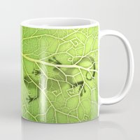lizard Mugs featuring lizard by Antracit