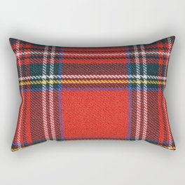 Love Tartán (5) - Stewart Royal Rectangular Pillow